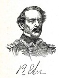 line drawing of General Robert E. Lee
