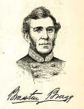 line drawing of General Braxton Bragg