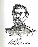 line drawing of General William Joseph Hardee