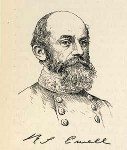 line drawing of General Richard Stoddert Ewell